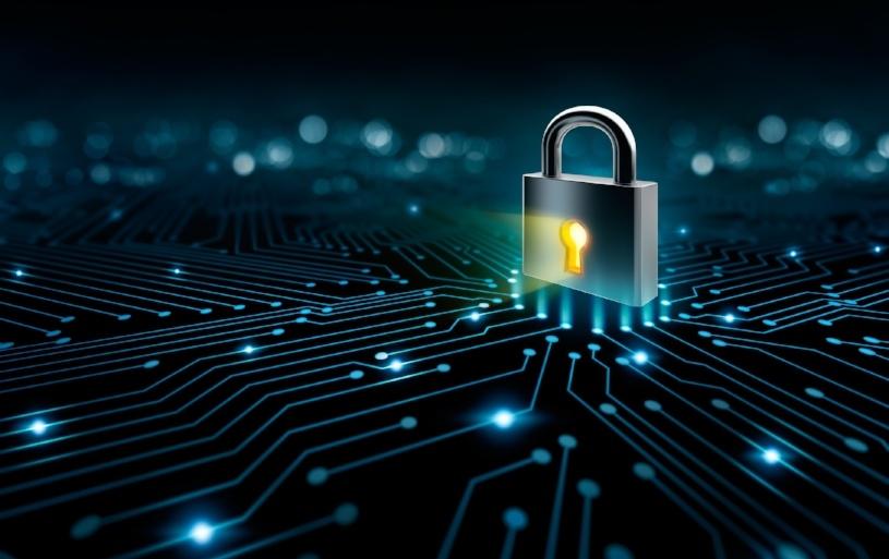 Lock depicting cybersecurity